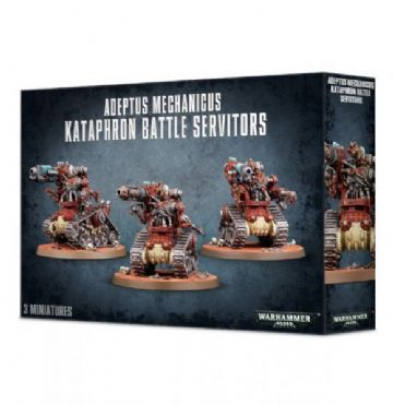 Games Workshop Warhammer 40000 40K Adeptus Mechanicus Kataphron Battle Servitors 59-14